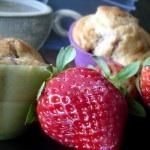 muffins fraises